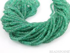 EMERALDS Natural  NO TREATMENT Genuine Brazilian Lux by Beadspoint, $225.95