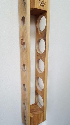 Reclaimed Pallet Wine Rack. Wall Mounted by BlueFoxFurnishings