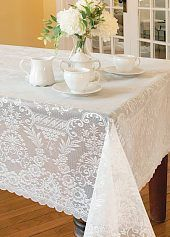 Gorgeous Grantham style tablecloth...