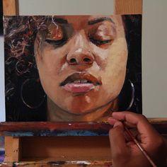 "Artwork Portrait Artists (@artwork_portrait) on Instagram: ""Oil painting by @willart4food ."