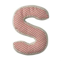 Bloomingville Letter S Cushion