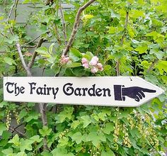 Personalised Fairy Garden Sign