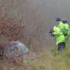 A3 'GHOST CRASH' remembered 10 years on. In 2002 a car was reported running off the road in Surrey, England by multiple witnesses. Police arrive and found no signs of a crash. After a careful search the car and driver were finally found but it was determined the accident occurred 5 months earlier.