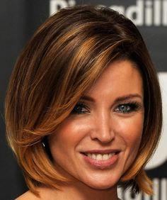 Trendy Short Hair for Women (I like the color technique)