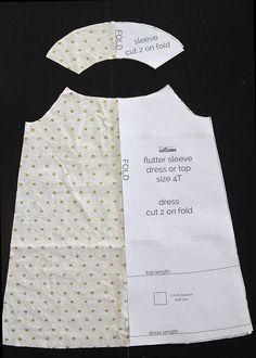 Шьем платье для девочки.