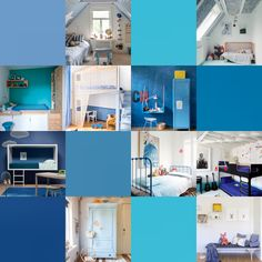 Today We Bring You 9 Blue Kids' Rooms