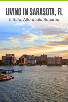 Thinking about living in Sarasota? This Florida Gulf Coast city is one of the best U.S. cities for retirement and offers affordable housing, a strong job market, waterfront views, and excellent outdoor recreation. If you're moving to Sarasota, here are five safe, affordable suburbs to consider settling down in! Jobs In Florida, Florida City, Moving To Florida, Sarasota Florida, Best Places To Live, Great Places, Venice Florida, Florida Living, Affordable Housing