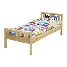 IKEA MYGGA Bed Frame With Slatted Base Grey Brown 70x160 Cm