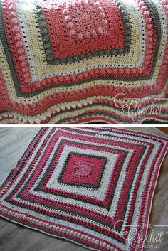 [Free Pattern] Hugs & Kisses All Around Crochet Baby Blanket The Most Huggable Crochet Love Blanket In The World! Easy Crochet Blanket, Crochet For Beginners Blanket, Chunky Crochet, Afghan Crochet Patterns, Crochet Baby, Knit Crochet, Crochet Afghans, Crochet Blankets, Baby Afghans