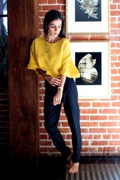 Pinstripe & yellow
