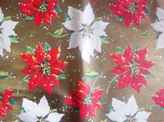 Vintage+Wrapping+Paper++Christmas+Gift+Wrap++by+TillaHomestead