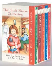 """I have the entire """"Little House"""" collection, and have read all the books several times.  If you have a little girl, this would be a great collection to read with her!"""