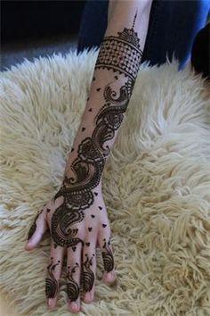 #mehendi #henna #design #hand #arm #lovely