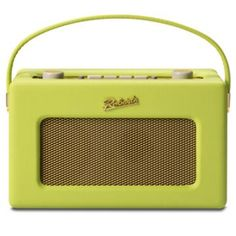 Zesty Lime, Tropical revival, Roberts Radio perfect for summer