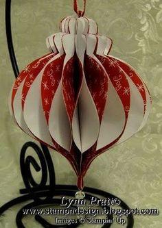 Honeycomb Ornament Tutorial...