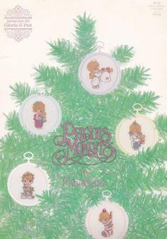 Precious-Moments-in-Miniatures-Vol-2-Gloria-Pat-Cross-Stitch-Pattern-PM23