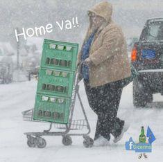 Ni el mal tiempo quita de comprar sidra