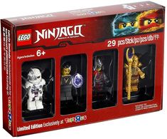 """With LEGO Ninjago from Toys""""R""""Us, children get to recreate scenes from the popular TV series. LEGO Ninjago sets are colorful and realistic, ensuring hours of fun. Minifigura Lego, Lego Kai, Lego Batman, Lego Marvel, Toys R Us, All Toys, Ninjago Lego Sets, Lego Ninjago Minifigures, Lego City"""