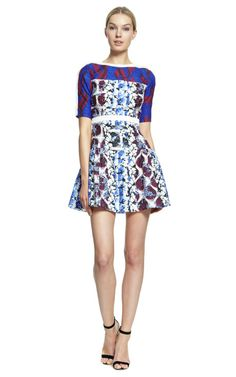 Natalie Dress by Peter Pilotto for Preorder on Moda Operandi  Target Who?