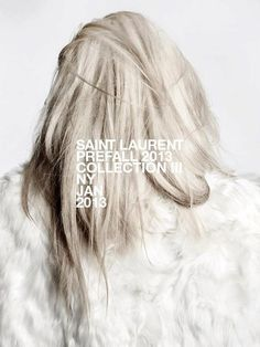 Saint Laurent Pre-Fall 2013 Collection