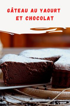 Gâteau au yaourt et chocolat