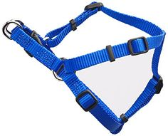 Coastal Pet Products DCP6345BLU Nylon Comfort Wrap Adjustable Dog Harness 38Inch Blue *** Click image to review more details.
