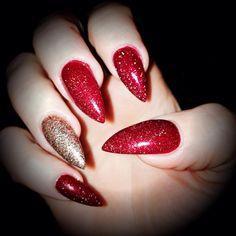 Stiletto Nails Christmas