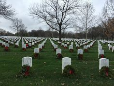Moments in Time, A Genealogy Blog: Friday's Photo: Arlington Cemetery in December