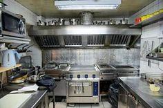 small commercial kitchen~ Myself and Four to Six other Workers- Get it Done, ship to ORDER