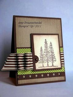 Stampin Up Masculine Cards | Stampin' Up! Plant of Hope ...Masculine Card CASE.... - My Stamping ...
