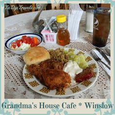 Want a good home-cooked meal? You'll find few finer than that offered at Grandma's House Cafe in Winslow.  Check it out at Tie Dye Travels. #arkansasfood   Good Grub at Grandma's House Cafe in Winslow. | Tie Dye Travels with Kat Robinson