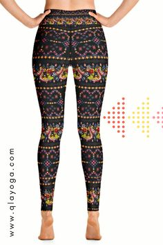 Love ancient history? these leggings are a must-have Tribal Print Leggings, Local Festivals, Body Sculpting, Yoga Session, Festival Outfits, Yoga Leggings, Ancient History, Hand Sewing, What To Wear