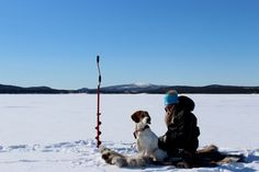 Ice fishing in Lapland, Finland. www.kiviluoma52.me