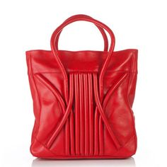 Swirl Tote Red, $599, now featured on Fab.