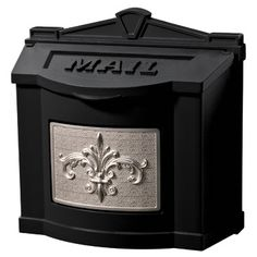 Gaines Wall Mount Mailboxes have a classic fleur de lis motif. Large capacity wall mount residential mailboxes hold days of mail and has optional locking hardware. Wall Mount Mailbox, Mounted Mailbox, Polished Brass, Solid Brass, Home Depot, Mailbox Installation, Mailboxes For Sale, Cluster Mailboxes, Antique Mailbox