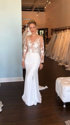 Semi Formal Wedding, Casual Wedding, Backless Wedding, Wedding Gowns, Wedding Ring, Lace Wedding, Wedding Dress Sleeves, Lace Sleeves, Bridal Dresses