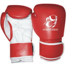 GB-200142 Boxing Gloves, Rex Leather, Machine Mold, Strap with Velcro Fastener.
