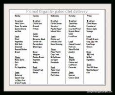 Eat Paleo in Miami Primal Organic's Menu this week - Primal Organic
