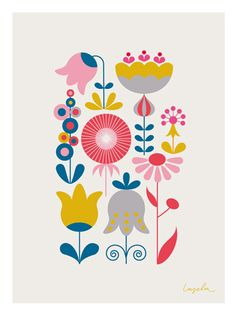by Swedish illustrator Ingela P Arrhenius.  I just discovered her site, but I love her work!