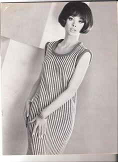 DRESS  Sleeveless Roll Collar Crochet Dress by suerock on Etsy, $3.99