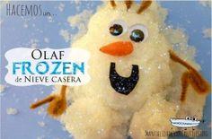 Frozen con nieve casera