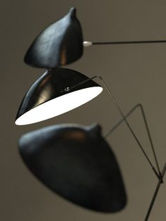 serge mouille lamps standing 3ds - Serge Mouille standing lamp by BBB3viz