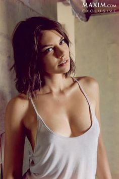 """The Walking Dead"" Actress Lauren Cohan 