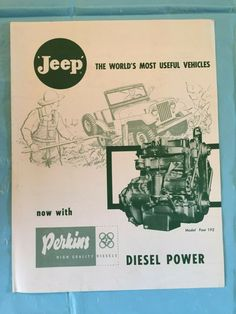 Advertising & Brochures   eWillys   Page 12 Brochure Folds, Trophy Fish, Jeep Cj, Station Wagon, Print Ads, Brochures, Selling On Ebay, Advertising, Print Advertising