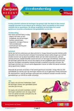 Tijd (groep 8) Math Challenge, Math Classroom, Primary School, Mathematics, Challenges, Money, Math, Upper Elementary, Elementary Schools