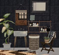 mari bathroom decor conversion for the sims 4