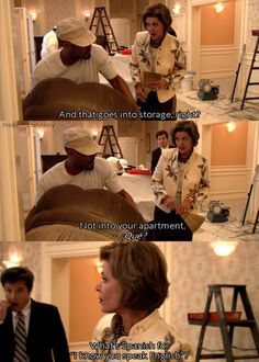 Lucille Bluth is the worst and funniest on Arrested Development.