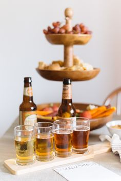 The perfect Pumpkin Beer tasting to start off a week of feasting | Photography: Anna Reynal - http://www.annareynal.com/ | Design and Florals: Kruse & Vieira Events http://kruseandvieiraevents.com/