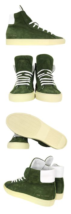 Common Projects Vintage High Green Trainers