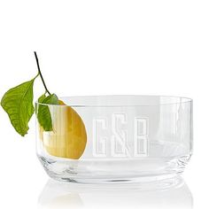 glass serving bowl makeyourmark
